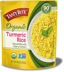 TASTY BITE TUMERIC RICE 8.80 OZ EA