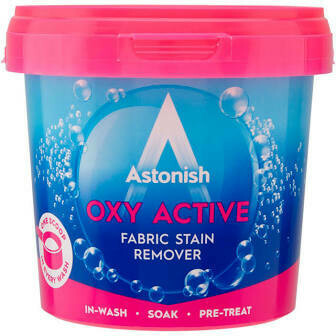 ASTONISH OXY ACTIVE FABRIC STAIN REMOVER POWDER 650GM