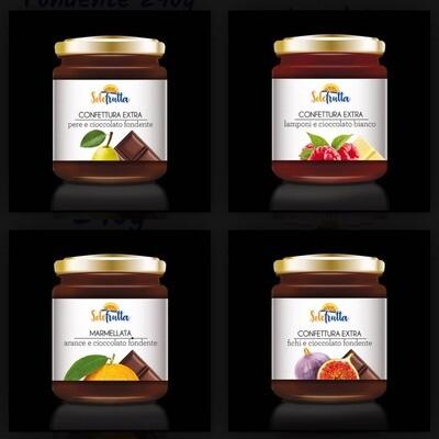 Confetture di frutta e cioccolato(clicca qui)