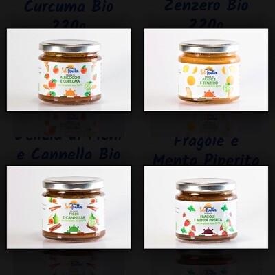 Delizie di marmellate miste biologiche(Clicca qui)