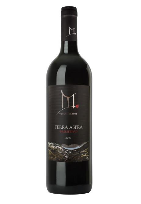 Terra Aspra Etichetta Nera - Vino rosso Primitivo - DOP Basilicata - 6 bottiglie da 750 ml