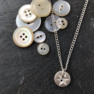 Silver Button Jewellery