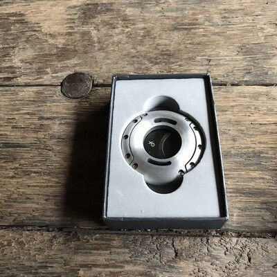 403SL XO Cutter - Silver (Black Blades)