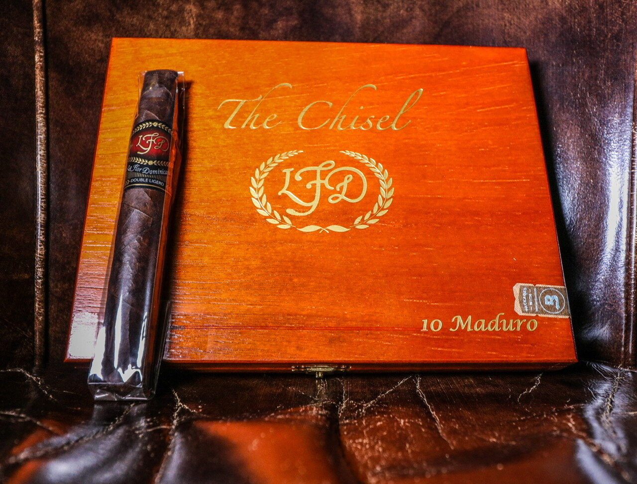 LFD The Chisel Double Ligero Maduro, 10's