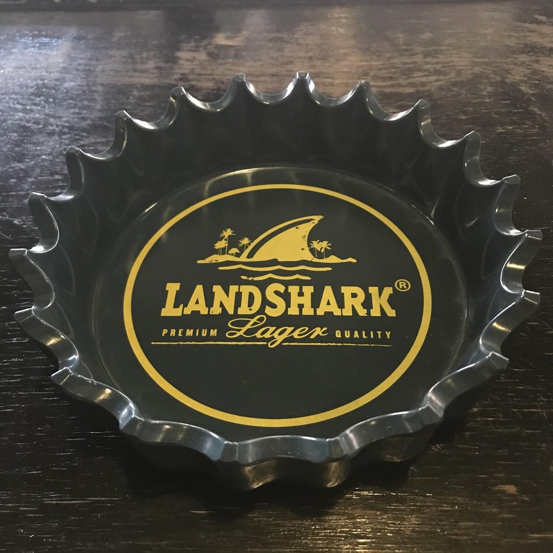 Crow's Nest Landshark Bottle Cap Ashtray