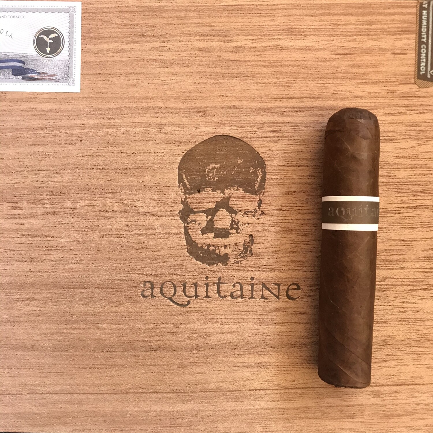Knuckle Dragger 4x52 Petite Robusto, Aquitaine, 24's