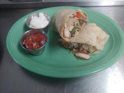 SOB Burrito (1/2 size, still huge!)