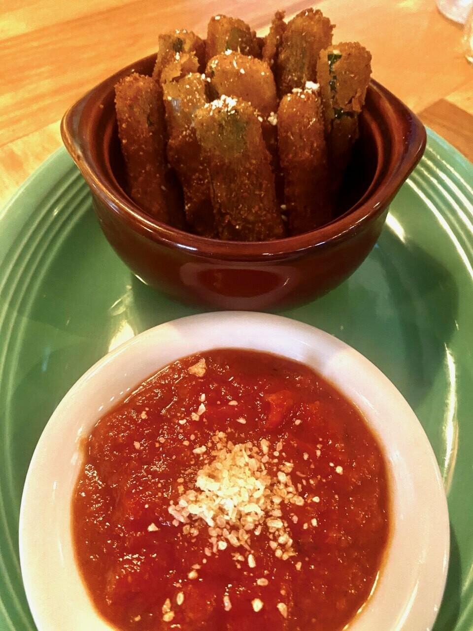 Fried Zucchini Fingers