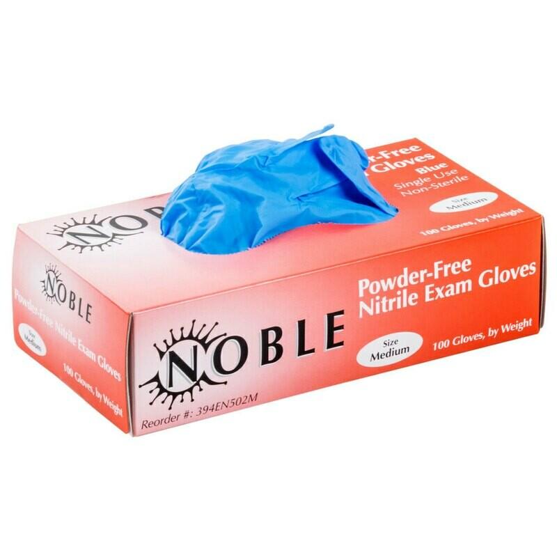 Nitrile 4 Mil Thick Powder Free Exam Gloves (100/box)-Medium