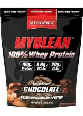 Myogenix Myolean 100% Whey Protein 5#