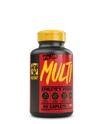 Mutant Multi Vitamin 60 Tablets
