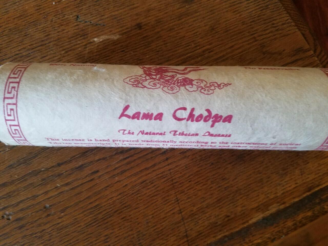 Lama Chodpa Incense -Meditation