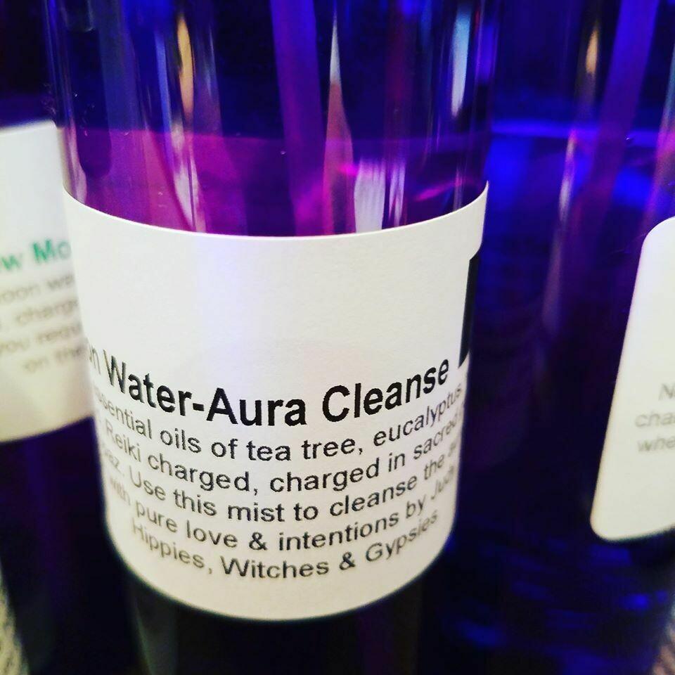 Moon Water -Aura Cleanse 4ozs