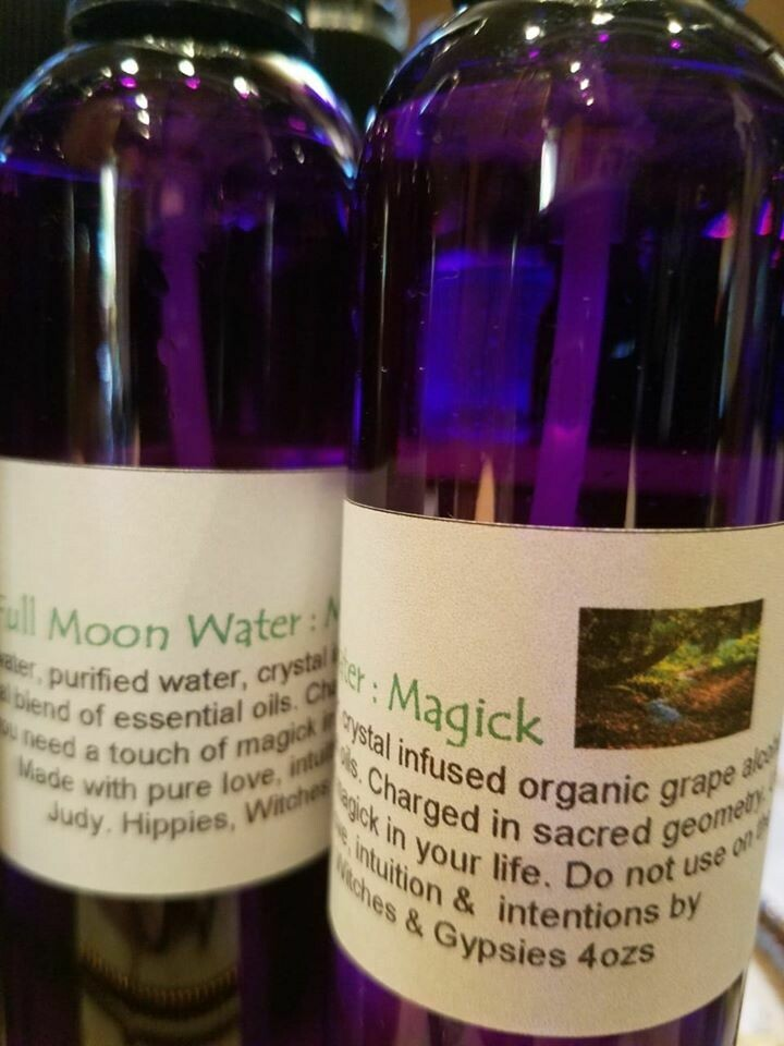 Moon Water -Magick 4ozs.
