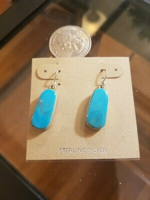 Turquoise Earrings-New Mexico