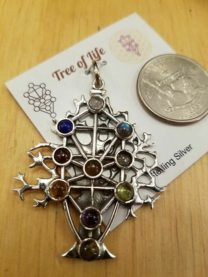 Tree Of Life -Sterling Pendant