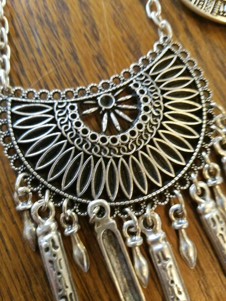Pewter Necklace -Turkey