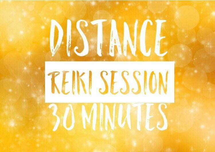 Distance Reiki Individual Session-30 Minutes