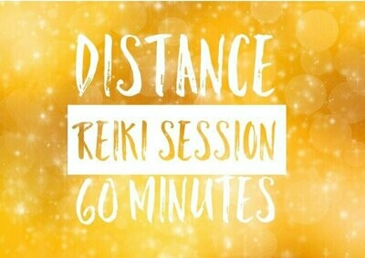 Distance Reiki Individual Session-60 Minutes