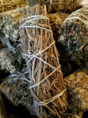 Smudge Bundle Sage & Lavender (One small bundle )