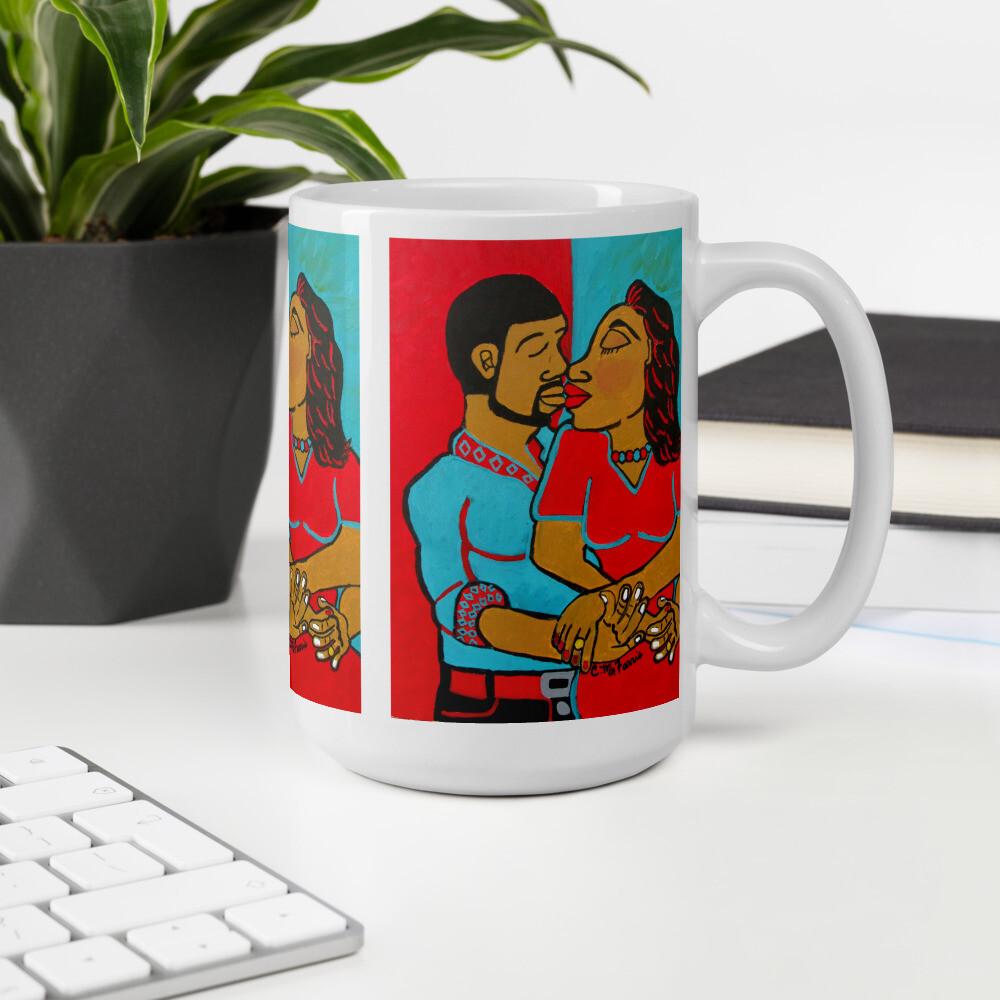 Lovers Embrace Mug