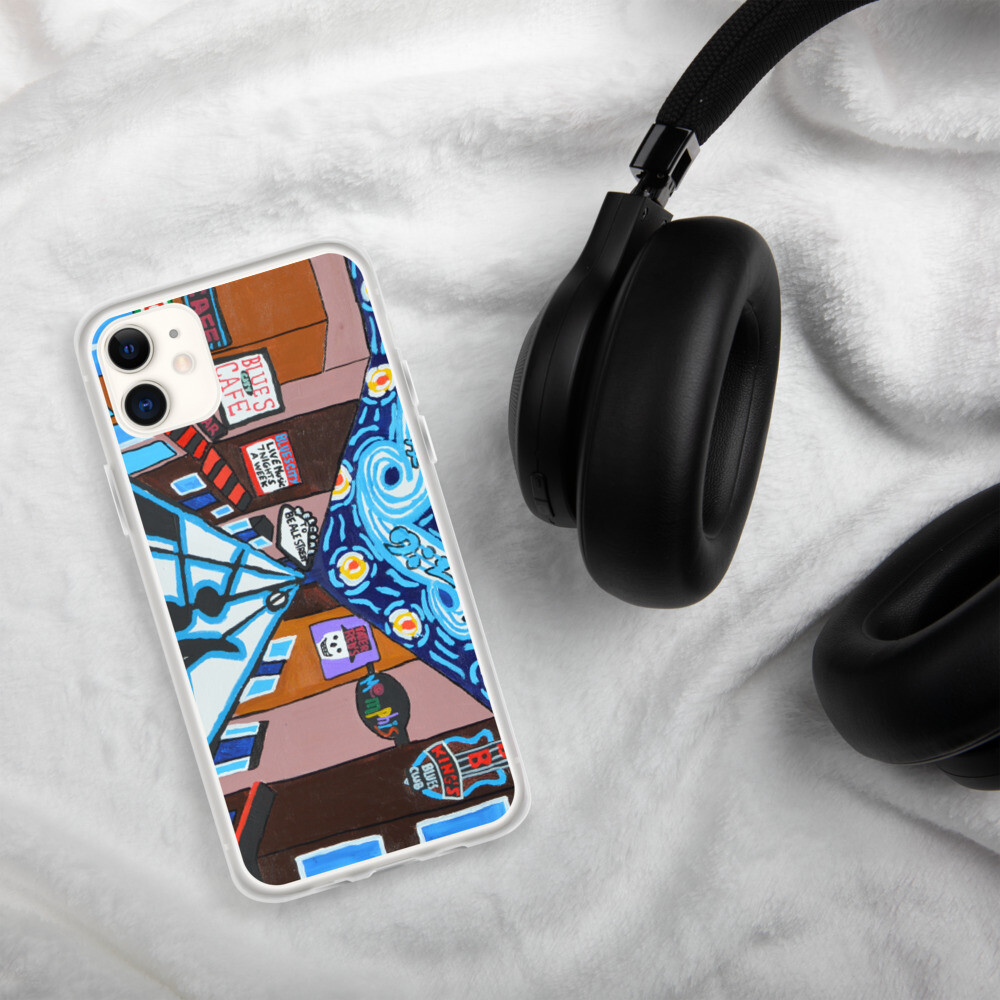 Memphis Nights on Beale Street iPhone Case