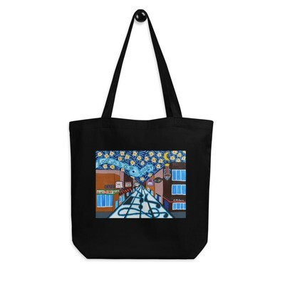 Memphis Nights on Beale Street Eco Tote Bag