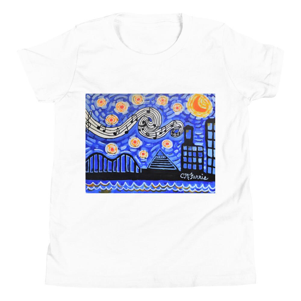 Memphis Nights Youth Short Sleeve T-Shirt