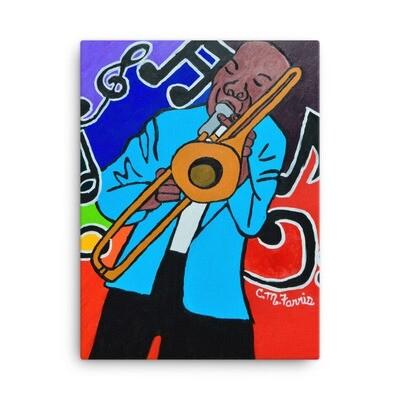 Jazz It Up 18X24 Canvas Prints