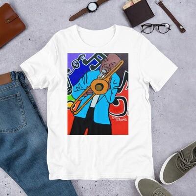 Jazz It Up Short-Sleeve Unisex T-Shirt