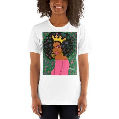 Black Queen Short-Sleeve Unisex T-Shirt