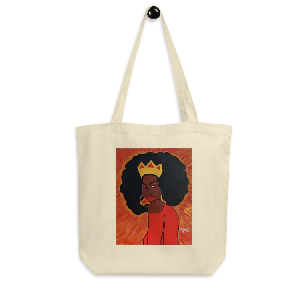 Fierce Queen Eco Tote Bag