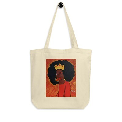 Fierce Queen Eco Tote Bag