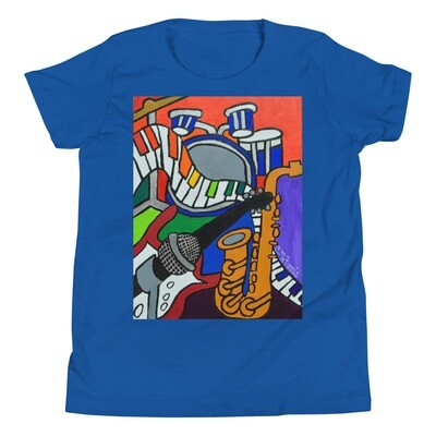 Music Vibes Youth Short Sleeve T-Shirt
