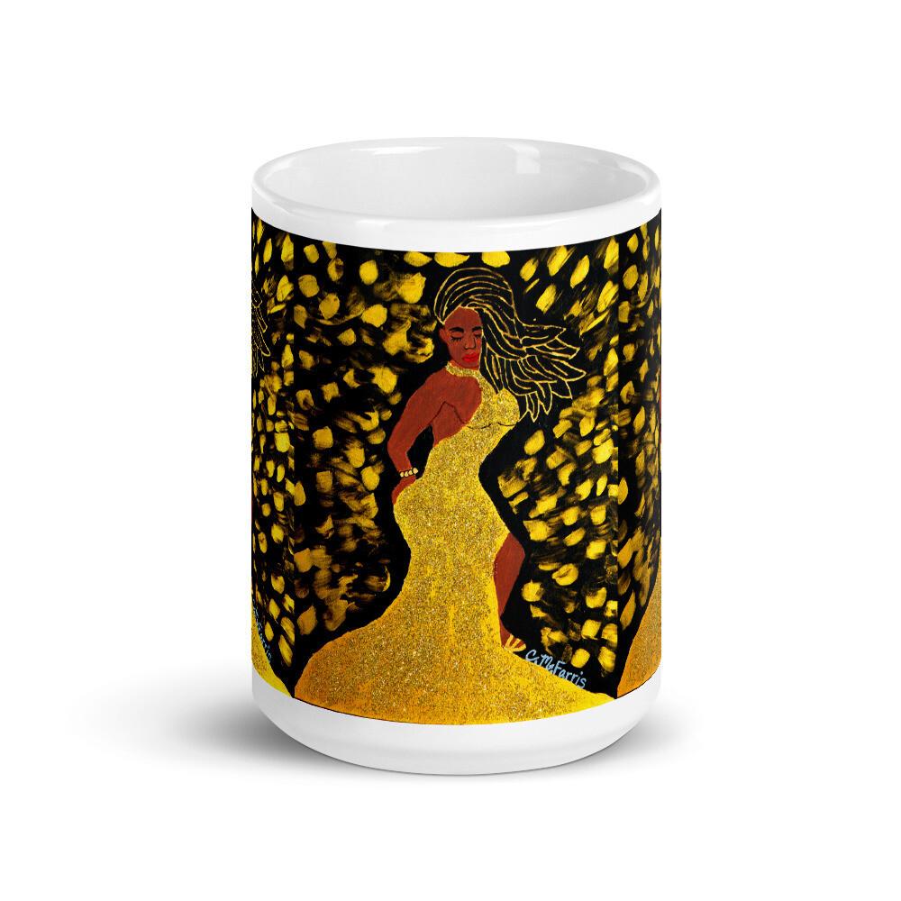 Golden Goddess Mug