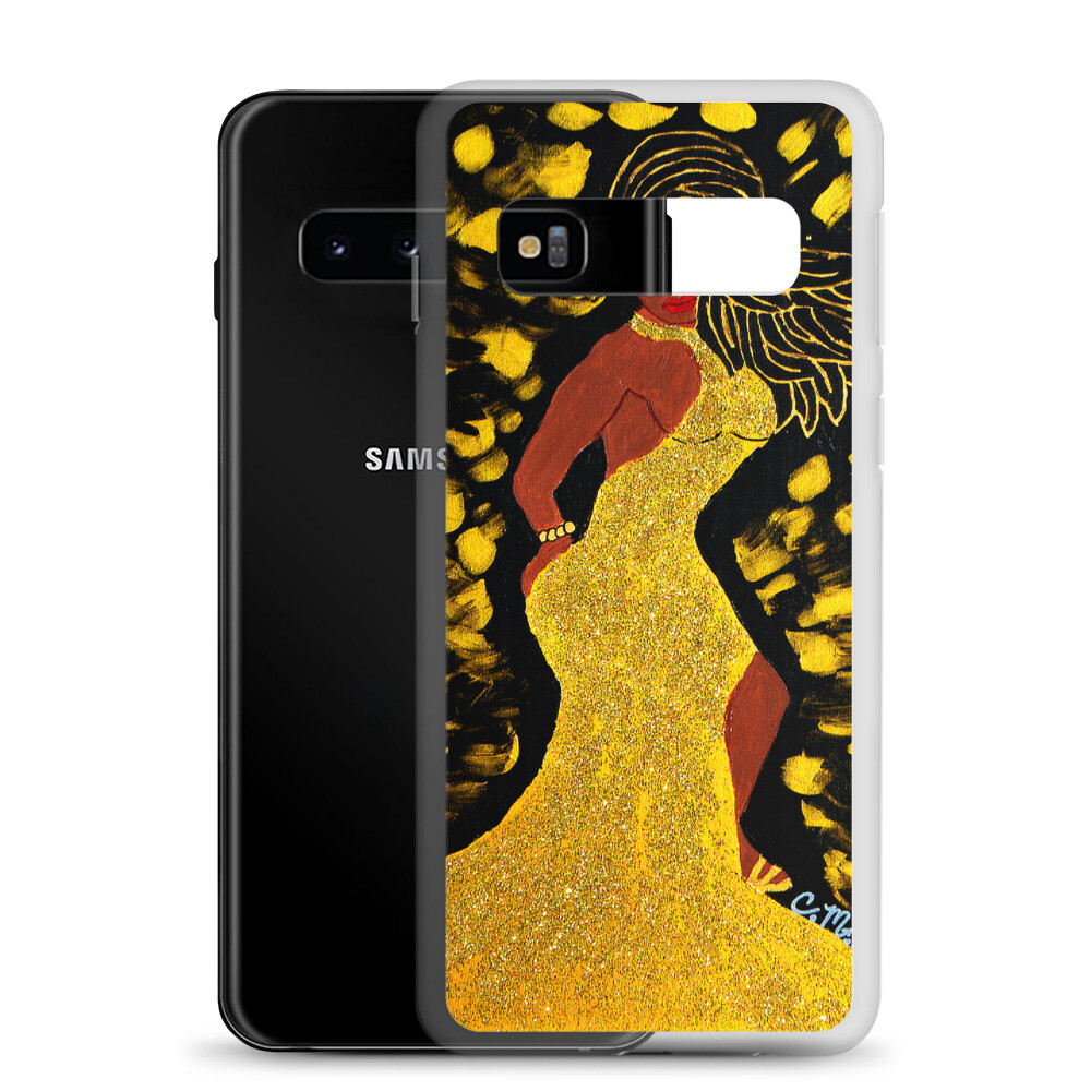 Golden Goddess Samsung Case