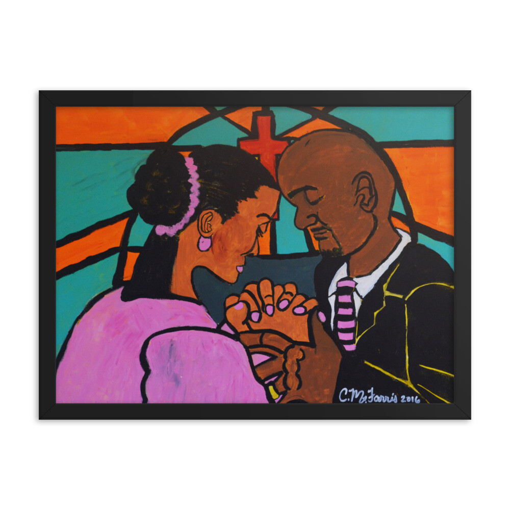 Power of Prayer 18X24 Framed Print