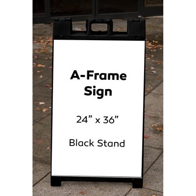 A-Frame Plastic Holder ONLY