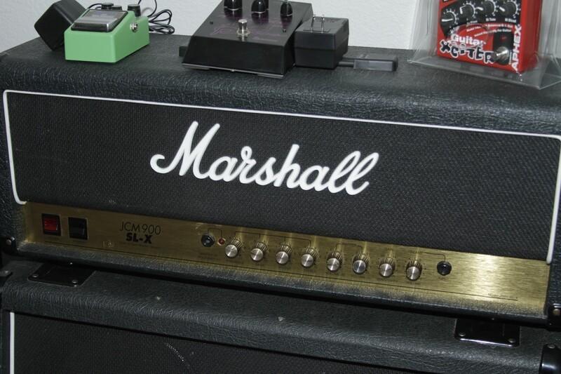 OL-Marshall JCM900 SL-X Head