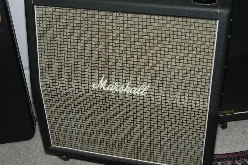 OL-Vintage Marshall Bass 4x12 Cabiinet Model 1982.
