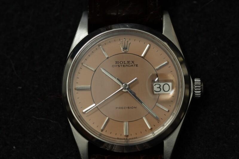 OL-Vintage Rolex Oysterdate Precision Men's Watch-(#13)