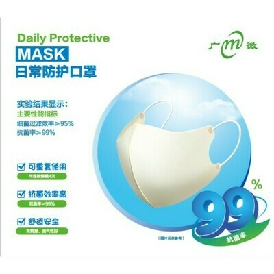 Guang Wei Medical Surgical Mask (Antibacterial) 10 pcs