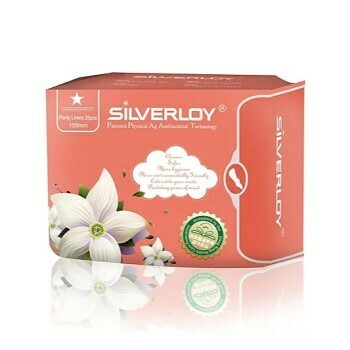 Silverloy Anti-Bacterial Panty Liner 25 pcs