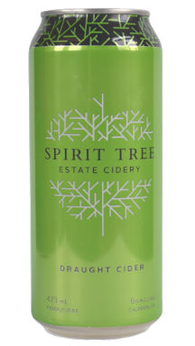 Draught Cider, 473 ml can