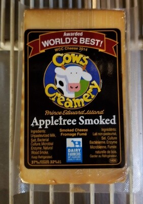 Cheese, Cheddar, Apple Smoked - Cows Creamery
