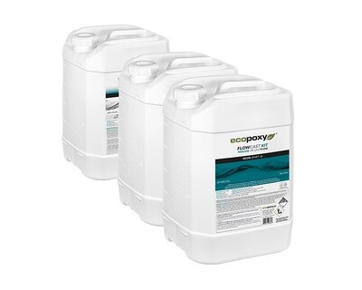 12 Liters FlowCast Epoxy by EcoPoxy