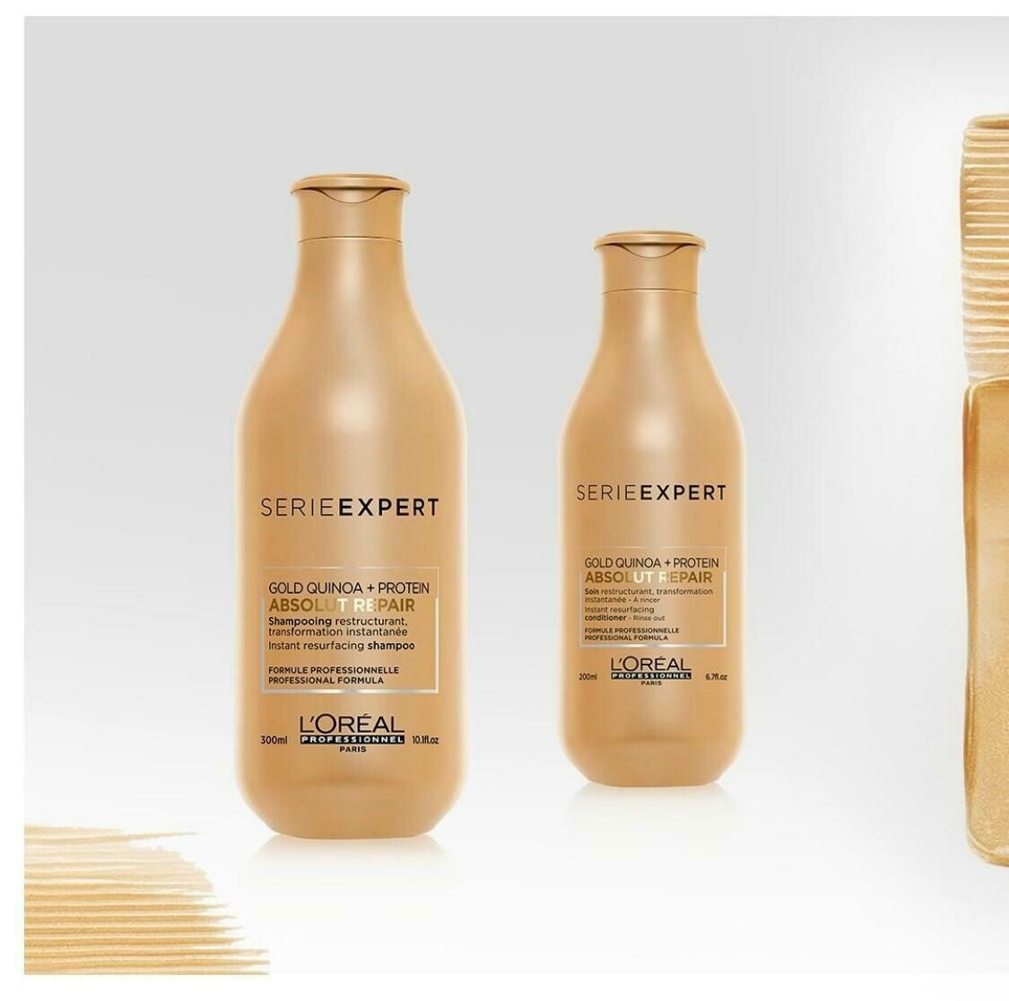 Shampoo e Condicionador - Absolut Repair GOLD QUINOA + PROTEIN