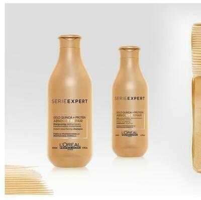 Shampoo e Condicionador - Absolut Repair GOLD QUINOA + PROTEIN