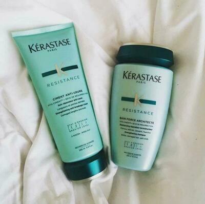 Shampoo e condicionador - FORCE ARCHITECTE - Kérastase - PROMOCIONAL