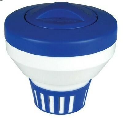 Floating Chlorine Dispenser / Chlorinator for pools / pucks